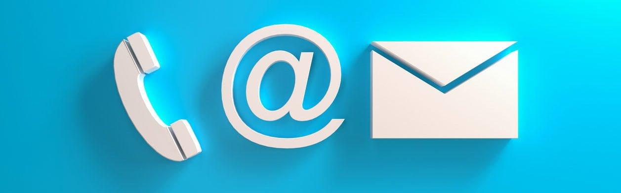 Contact Info Symbols